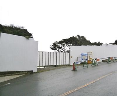 城ケ島にキャンプ場