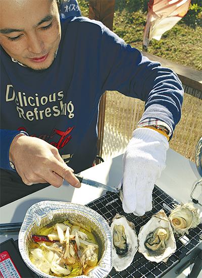 旬の牡蠣と絶景スパ