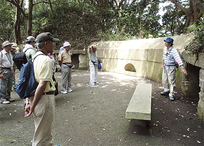 砲台跡探訪ツアー