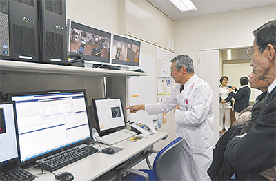 放射線治療棟を新設