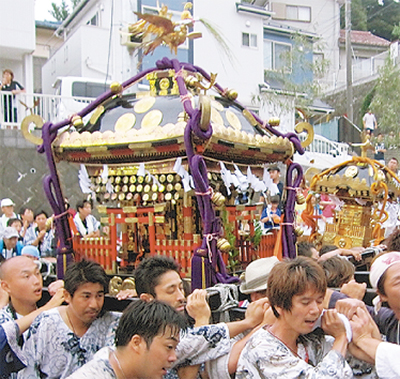 八坂神社の夏祭り
