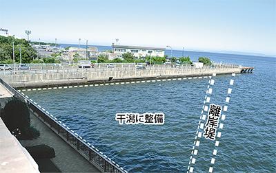 海に親しむ干潟整備