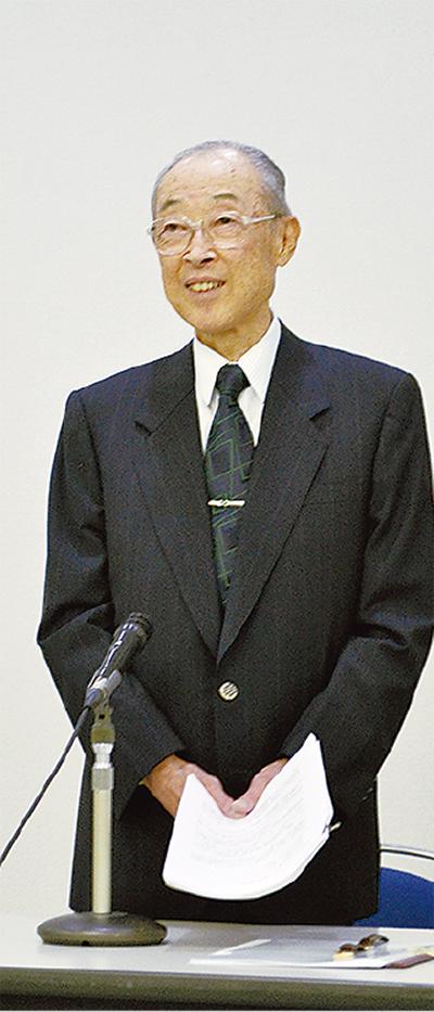 経営スクールに元助役の井上氏
