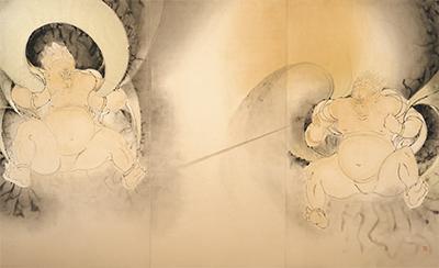 市ゆかりの日本画家
