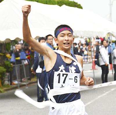 大津男子 大会新で4連覇