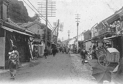 あの頃の横須賀の街並み