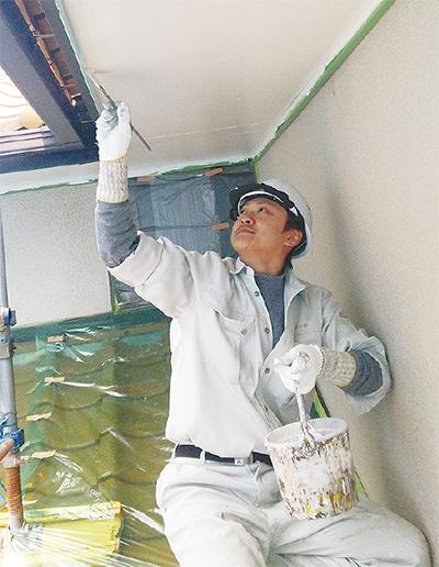 夏迎える前に塗装工事を