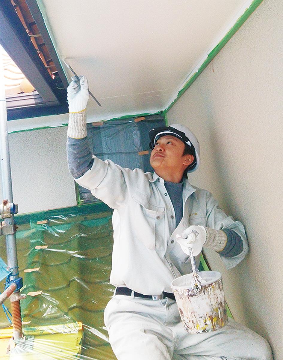 外壁塗装は専門店にお任せ