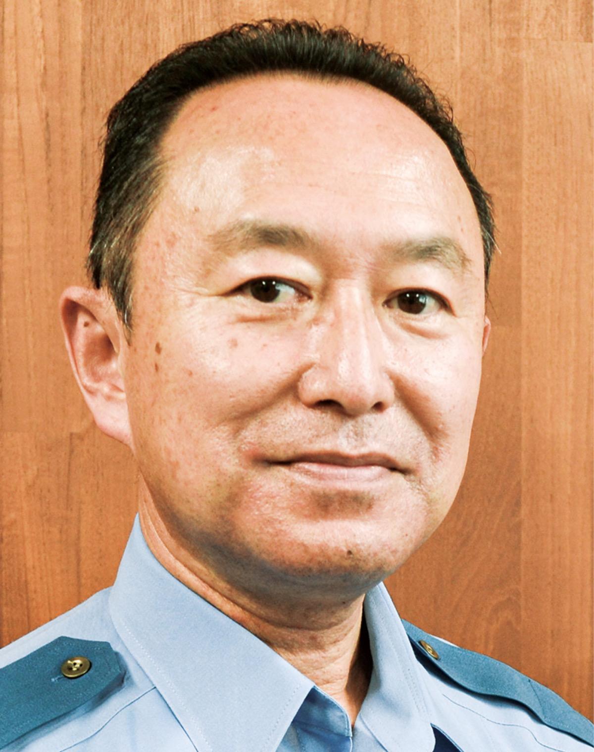 浦賀警察署 杉本 彰 署長 コンビニと連携 | 横須賀 | タウンニュース