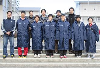 三浦市チーム(写真は三浦半島駅伝に登録した選手)