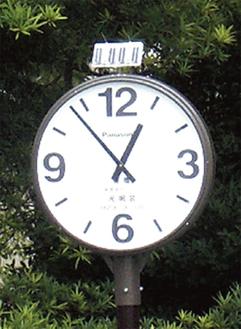 寄贈された時計