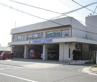 築42年の現消防本部庁舎(栄町)