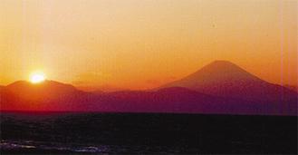 春の嵐一過 ゴールデン箱根神山(三戸海岸)