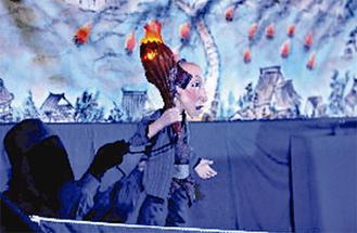 人形劇で防災を学ぶ