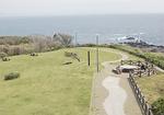 三浦半島の最南端、雄大な景色が眼下に広がる