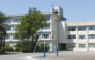 統合が決まっている三崎中学校
