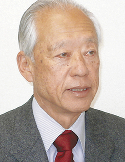 桜まつり運営委員長の西崎さん