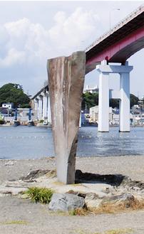 白秋記念館そばに建つ歌碑