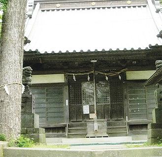 現在の若宮神社の拝殿