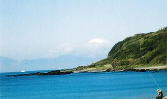 長浜海岸からの眺望
