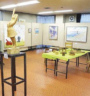 様々な作品が展示された昨年の様子