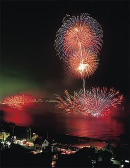 38回目を数える三浦海岸の花火大会