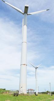 三浦のランドマークとして親しまれる風車