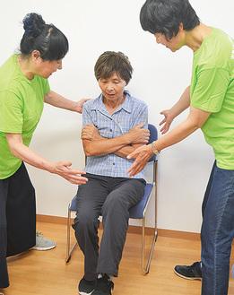片足立ちなど簡単な体力測定で自身の健康状態を把握