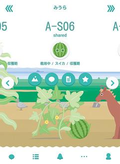 スマホで野菜の生育状態を見ることができる「Root Farm」
