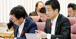 10月26日に行われた決算特別委員会で質問