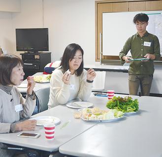 三浦野菜と宿泊をつなげるプログラムを模索