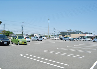 建設が計画されているカインズ三浦店の駐車場