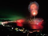 夏の三浦彩る花火