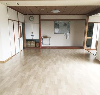 福祉避難所の一室