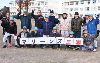 健康スローピッチソフトボールチーム「マリーンズ三浦」