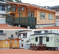 モデルハウスを避難所に