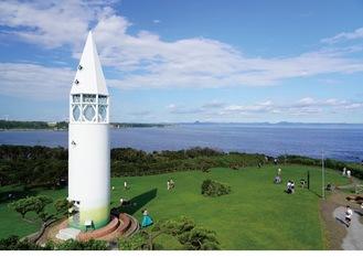 最優秀賞「公園内の灯台」(写真提供/市観光協会)