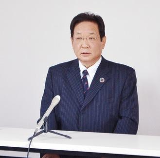 今月7日、会見に臨んだ吉田氏