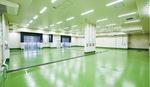 高度衛生管理型加工室。そのほか鮮度を保つ窒素氷が作れる製氷工場も完成
