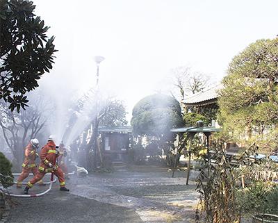 貴重な文化財を火災から守れ