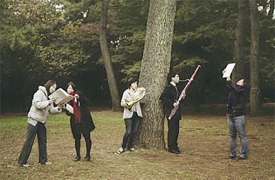 木管五重奏で春の音便り