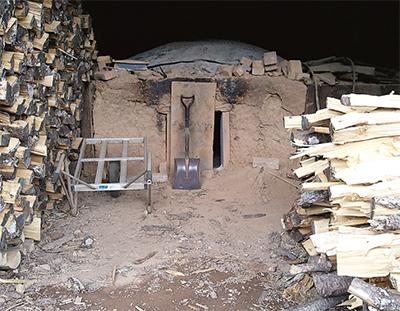 被災地の炭焼き窯を再建したい