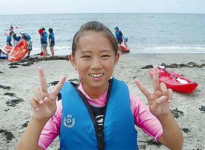 自然体験で心を育む 海遊キャンプ参加者募集
