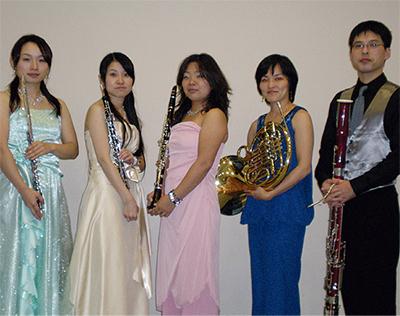 木管五重奏の音色を楽しむ