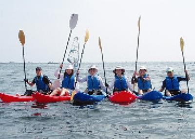 大人の海遊びキャンプ
