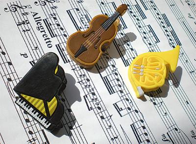 3人で奏でる音楽