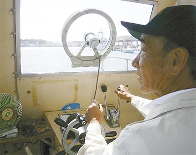 観光に一助、城ケ島渡船