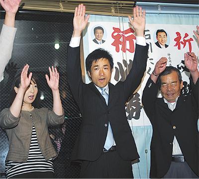 石川巧氏が初当選