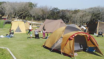 城ヶ島で防災キャンプ