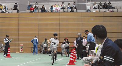 大会で自転車マナー向上を
